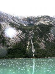 Glacier Waterfall,  Beagle Channel